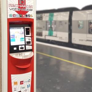 Borne URBAM Multiservice RATP