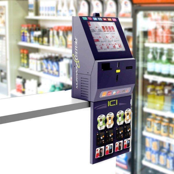 Logiciels pour kiosques et automates lrd for Borne free bureau de tabac